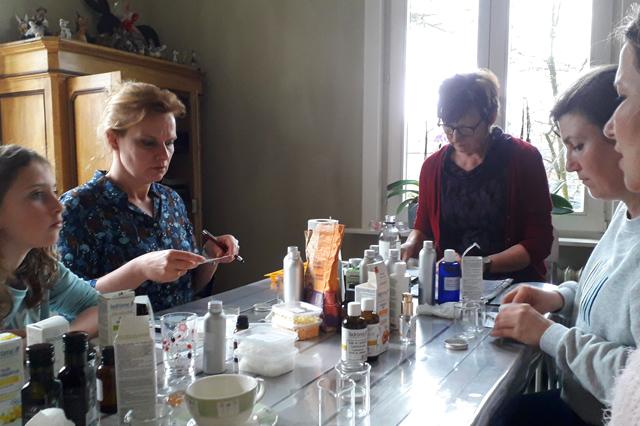 Workshop Kruiden cosmetica
