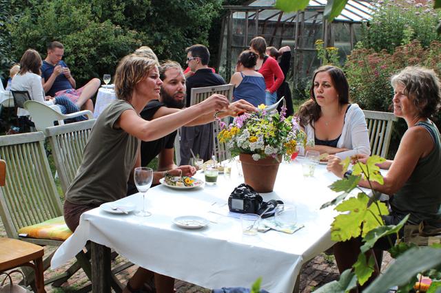 Alice Maes workshop koken deelnemers